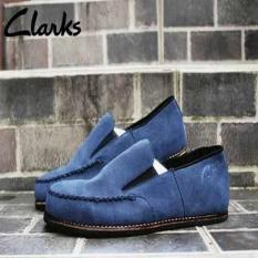 Slip On Clarks Venice Suede Mercy Navy Murah   Diskon   Casual   Formal    Boots d7dffcacc7