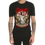 Review Tentang Slipknot Logam Berat Dicetak Musim Semi Dan Musim Panas T Shirt Hitam Baju Atasan Kaos Pria Kemeja Pria