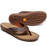 Jual Sandal Untuk Timberland Musim Panas Flip Flops Pria Coklat Intl Baru