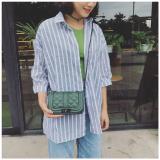 Beli Small Fragrant Wind Korea Fashion Style Perempuan Baru Bahu Kecil Tas Tas Hijau Gelap Dengan Kartu Kredit
