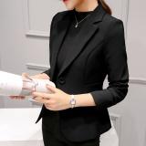 Toko Kecil Suit Female 2017 Wanita Kasual Musim Gugur Wild Suit Long Lengan Korea Slim Do Tipis Bang Pendek Jaket Murah Tiongkok