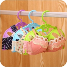 Smart Bra Hanger Bentuk Drying Holder Pakaian Pelindung Shaper Display Aman Rumah-Internasional