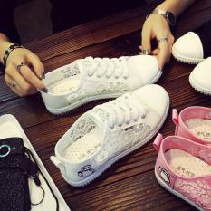 12 Sepatu Santai Remaja Anak Perempuan Sandal Musim Panas SMP Siswa Sekolah Dasar (Putih)