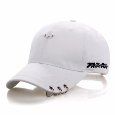 Snapback Topi BTS Jimin Fashion K Pop Besi Cincin Topi Adjustable Topi Bisbol-Intl