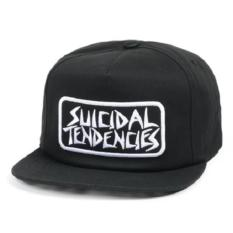 Toko Snapback Suicidal Tendencies Full Black Terlengkap