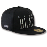 Snapback Topi Black Pic Label Black Murah