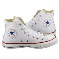 Beli Sneaker All Star Ox Classic Canvas High White Dengan Kartu Kredit