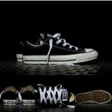 Sneaker Freestyle All Star Ox Classic Canvas Low Black Sneaker Splash Diskon
