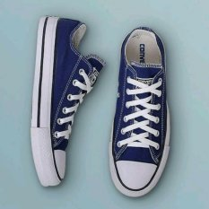 Spek Sneakers All Star Clasic Ct Ox Low Navy Blue Jawa Timur