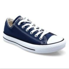 Harga Sneakers All Star Ox Classic Canvas Low Navy Blue Satu Set