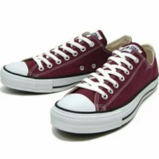 Harga Sneakers All Star Ox Classic Canvas Low Red Maroon Sneaker Splash Terbaik
