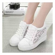 Harga Sneakers Boots Wedges Vnl Md 009 Putih Gm Sepatu Wanita Berkualitas Yang Bagus
