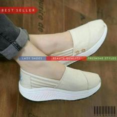 Sneakers Kets FB1161 TOM Mocca Sepatu Wanita Murah Berkualitas