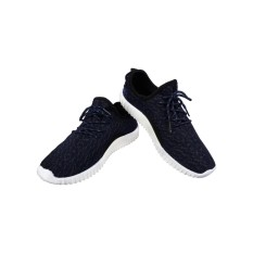 Sneakers Pria Import Korea - Navy