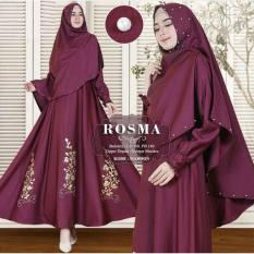 Snowshop Gamis Syari Rosma -  7 warna Dress Muslimah / Fashion Muslim / Baloteli / Hijab / maxi