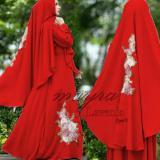 Diskon Snowshopkita Baju Muslim Syari Lavenia Merah Akhir Tahun