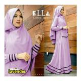Beli Snowshopkita Dress Muslimah Gamis Syari Syfarose Lavender Murah