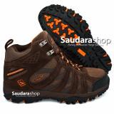 Promo Snta 476 Sepatu Gunung Sepatu Hiking Sepatu Outdoor Brown Orange Snta