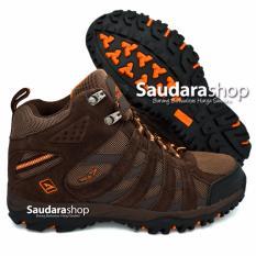 Harga Snta 476 Sepatu Gunung Sepatu Hiking Sepatu Outdoor Brown Orange Di Indonesia