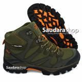 Diskon Snta 478 Sepatu Gunung Sepatu Hiking Sepatu Outdoor Green Orange Branded