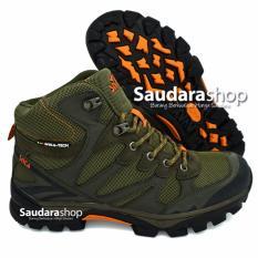 Beli Snta 478 Sepatu Gunung Sepatu Hiking Sepatu Outdoor Green Orange Cicil