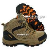 Harga Snta 483 Sepatu Gunung Sepatu Hiking Sepatu Outdoor Beige Brown Yang Murah