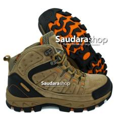 Jual Snta 483 Sepatu Gunung Sepatu Hiking Sepatu Outdoor Beige Brown Murah