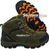 Jual Snta 483 Sepatu Gunung Sepatu Hiking Sepatu Outdoor Green Orange Di Indonesia