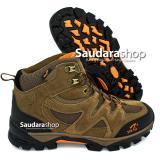 Harga Snta 491 Sepatu Gunung Sepatu Hiking Sepatu Outdoor Brown Orange Paling Murah