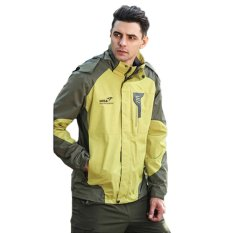 Spesifikasi Snta Mens Jaket Hiking Outdoor Waterproof Windproof 8802 Hijau Merk Snta