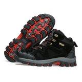 Spesifikasi Sepatu Gunung Hiking Outdoor Snta 465 Hitam Merah Beserta Harganya