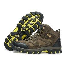 Promo Sepatu Gunung Hiking Outdoor Snta 465 Hijau