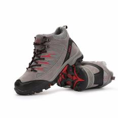 SNTA Sepatu Gunung/Hiking Sepatu Outdoor 475 - Abu Merah
