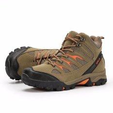 SNTA Sepatu Gunung/Hiking Sepatu Outdoor 475 - Cokelat Muda