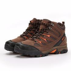 Promo Snta Sepatu Gunung Hiking Sepatu Outdoor 475 Cokelat Orange Akhir Tahun