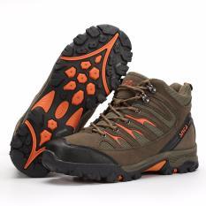 SNTA Sepatu Gunung/Hiking Sepatu Outdoor 475 - Hijau Orange