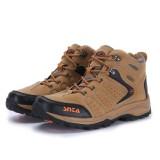 Beli Snta Sepatu Hiking Gunung Outdoor 482 Cokelat Orange Cicilan