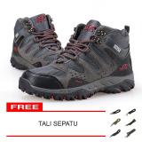 Jual Snta Sepatu Hiking Gunung Trekking Snta 490 Abu Merah Murah Di Dki Jakarta