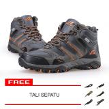 Beli Snta Sepatu Hiking Gunung Trekking Snta 490 Abu Orange Cicil