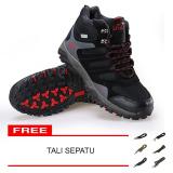 Review Snta Sepatu Hiking Gunung Trekking Snta 490 Hitam Terbaru