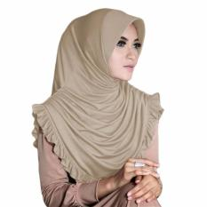 Gita Sukma Hijab Sofia Kerudung Instan - Mocca