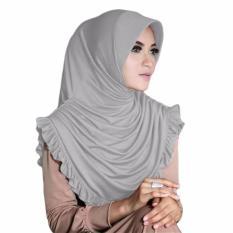 Gita Sukma Hijab Sofia Kerudung Instan - Abu