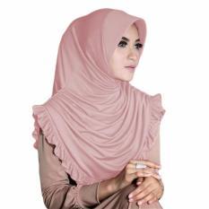 Gita Sukma Hijab Sofia Kerudung Instan - Dusty Pink