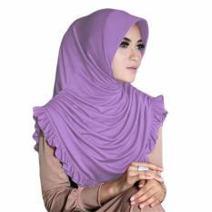 Sofia Hijab Kerudung Instan-Lavender