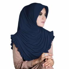 Gita Sukma Hijab Sofia Kerudung Instan - Navy