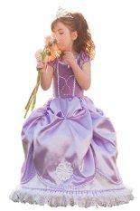 Review Pada Sofia Putri Gaun Anak Perempuan Ungu