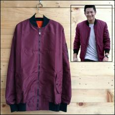 Jual Soldout Apparel Bomber Anti Air Big Size Maroon Online Indonesia