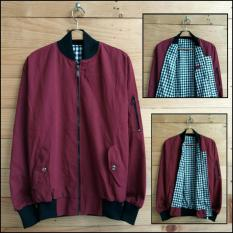 Soldout Apparel Bomber Baby Canvas Maroon Indonesia