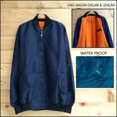 Soldout Apparel Bomber Waterproof Navy Soldout Apparel Diskon 30