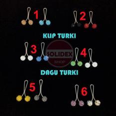 Solidex Klip Turki Mutiara Hijab Kerudung